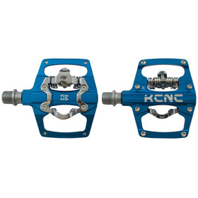 KCNC AM Trap Pédales Clipless Dual Side, blue